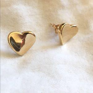 14K solid gold earrings